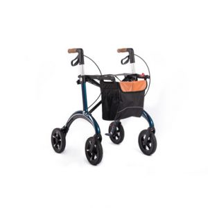 Carbon Rollator Saljol midnight blue