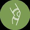 Gesundheit Illustration grün weiß