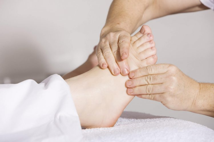 Physiotherapie Füße