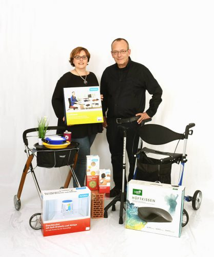 Sanitätshaus Wurst_Frank Wurst_Nicole Papagno_Sortimen
