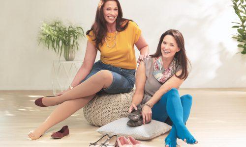 Zehenkappe Schuhauswahl zwei Frauen Sanitätshaus Wurst